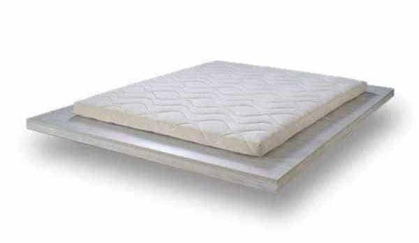 surmatelas latex Pure latex wave